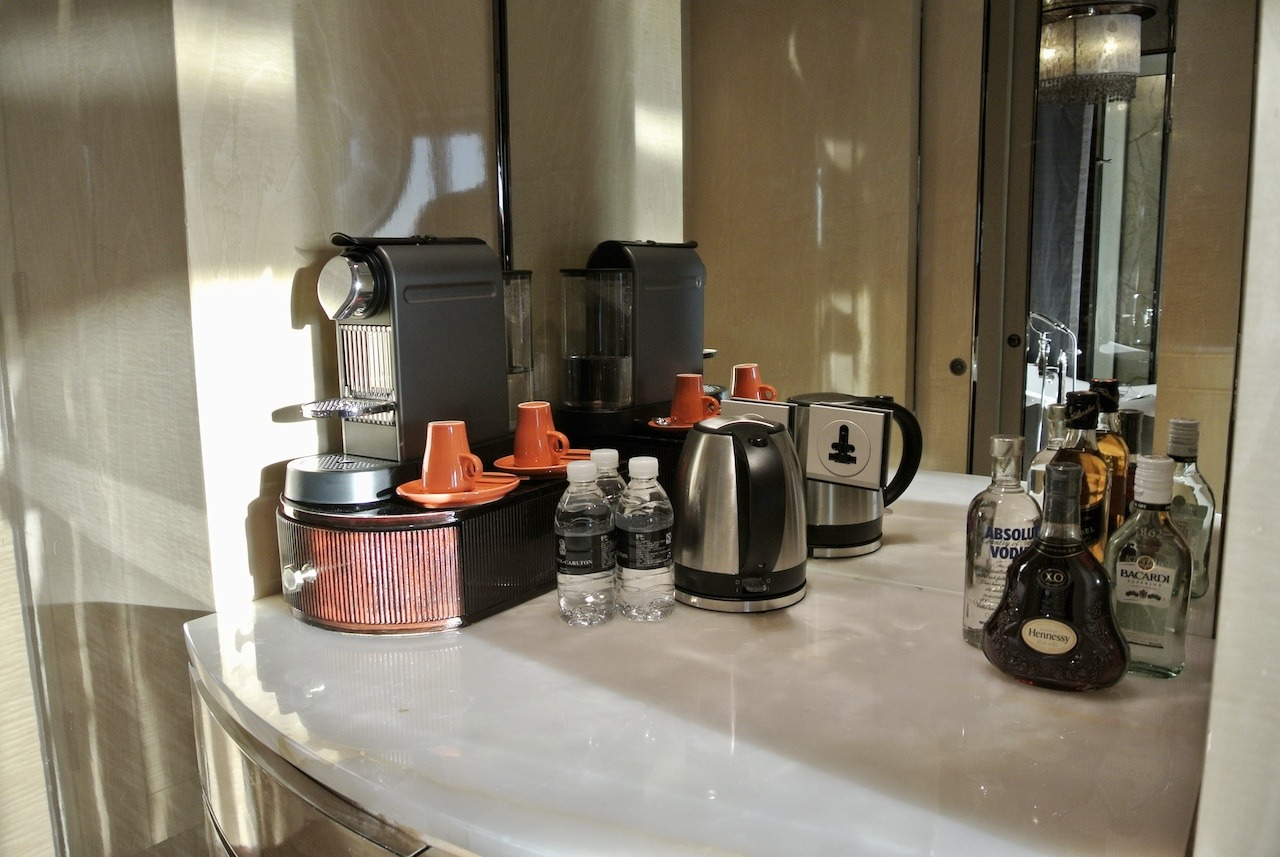 Suite coffee station