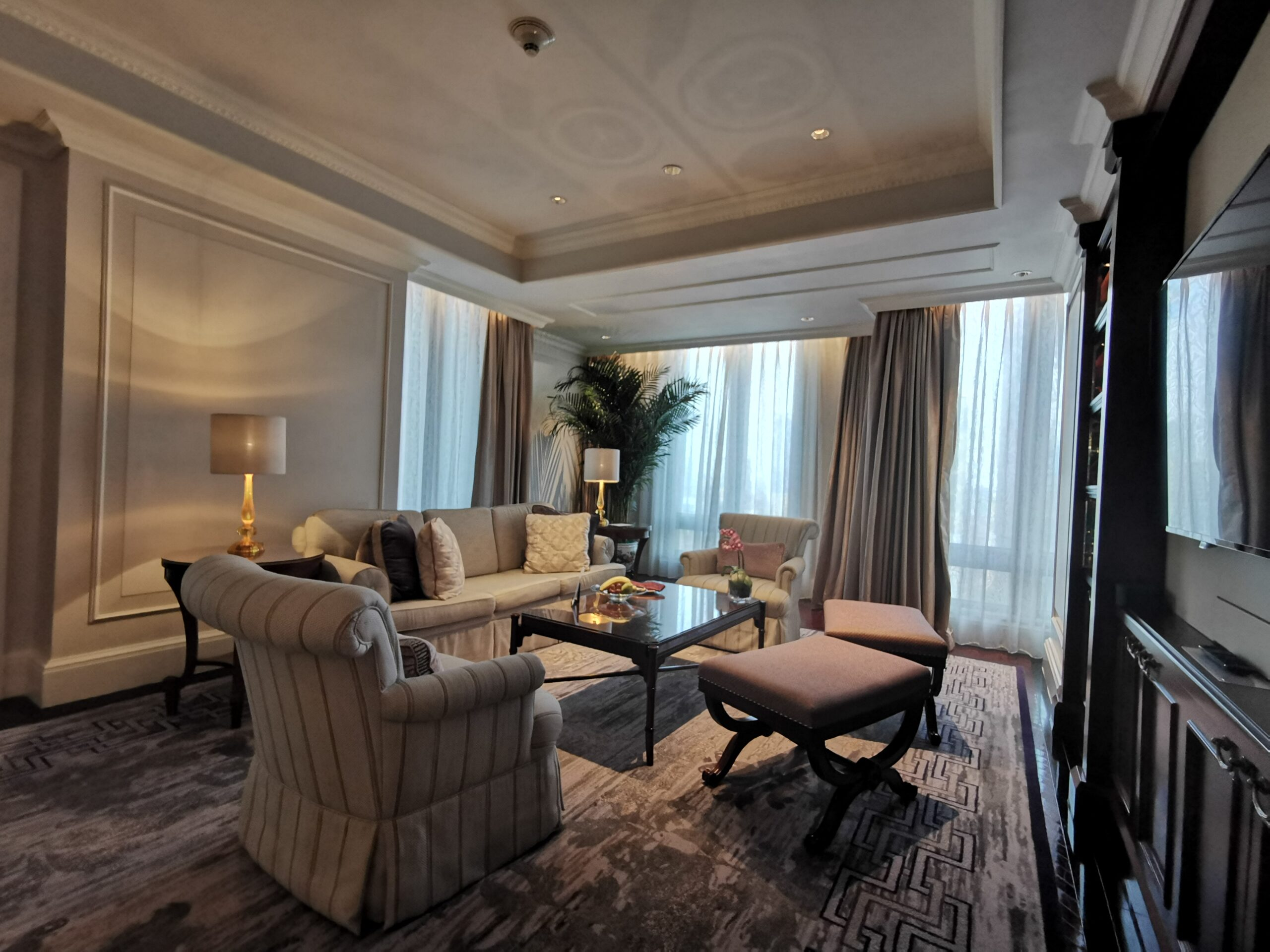 Ritz Carlton Guangzhou Suite Living Room