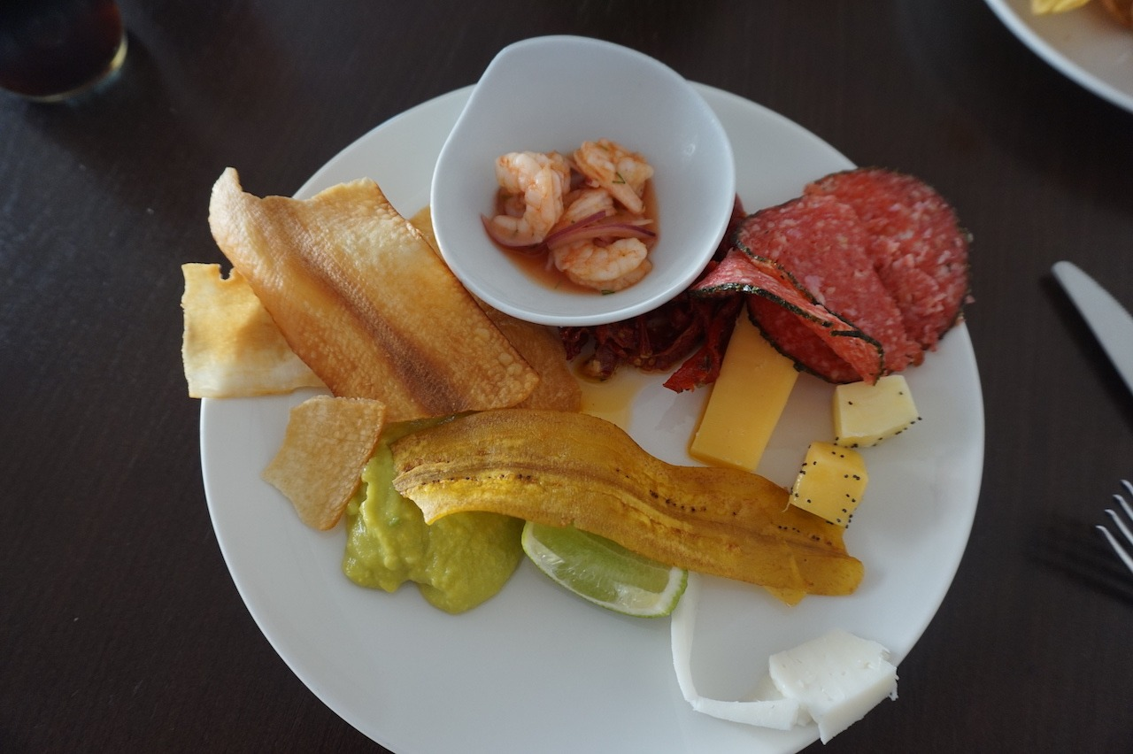 Hyatt Regency Cartagena lounge snacks